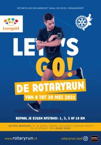Doe mee met de Rotaryrun en sponsor stichting Leergeld Drechtsteden!